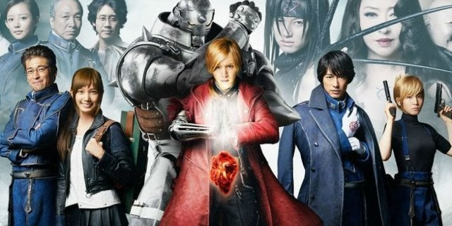 FullMetal Alchemist movie Netflix 2018