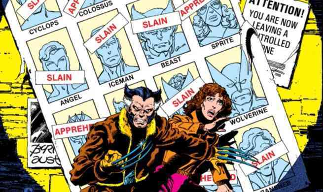 Future Marvel Dystopia - Days of Future Past