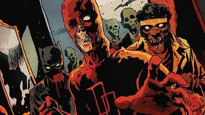 Future Marvel Dystopia - Marvel Zombies