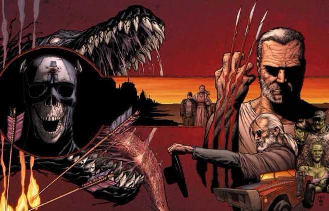 Future Marvel Dystopia - Old Man Logan