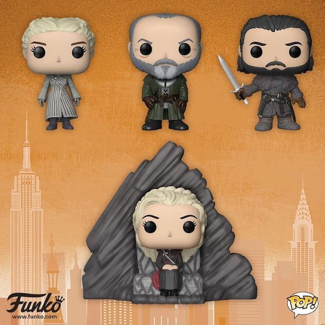 Latest Game Of Thrones Funko Pop Figures Give Daenerys