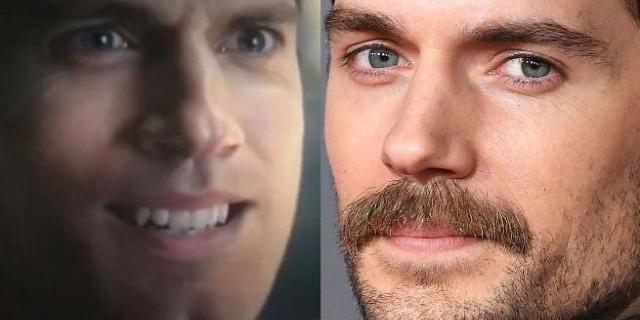 Henry Cavill Justice League Mustache CGI