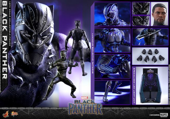 Hot Toys - Black Panther - Black Panther collectible figure_PR30