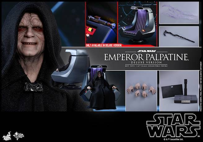 Hot Toys Unveils Star Wars Emperor Palpatine And Royal Guard Figures