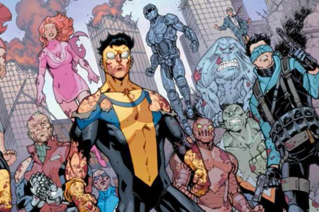Image result for invincible comic