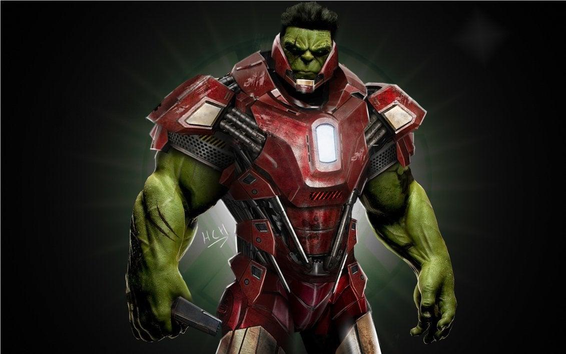 Resultado de imagem para hulk usando a hulkbuster