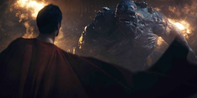 Justice League Easter Egg Superman Doomsday