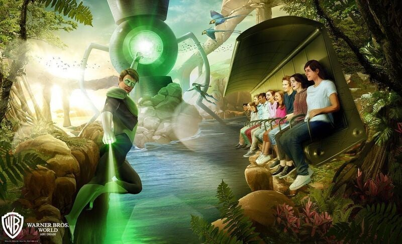 Justice-League-Ride-Green Lantern Galactic Odyssey