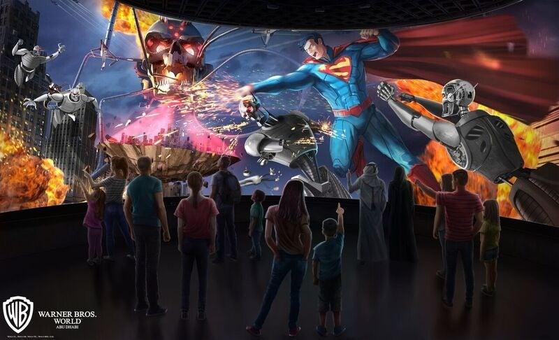 Justice-League-Ride-Superman 360 Battle for Metropolis