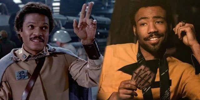 lando solo donald glover billy dee williams
