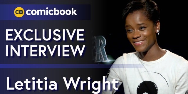 Letitia Wright Talks the Black Panther screen capture