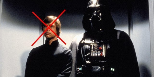 luke skywalker darth vader lucasfilm return of the jedi