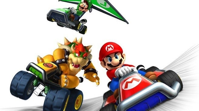 Mario Kart is Coming to iPhone and Android Devices Next March