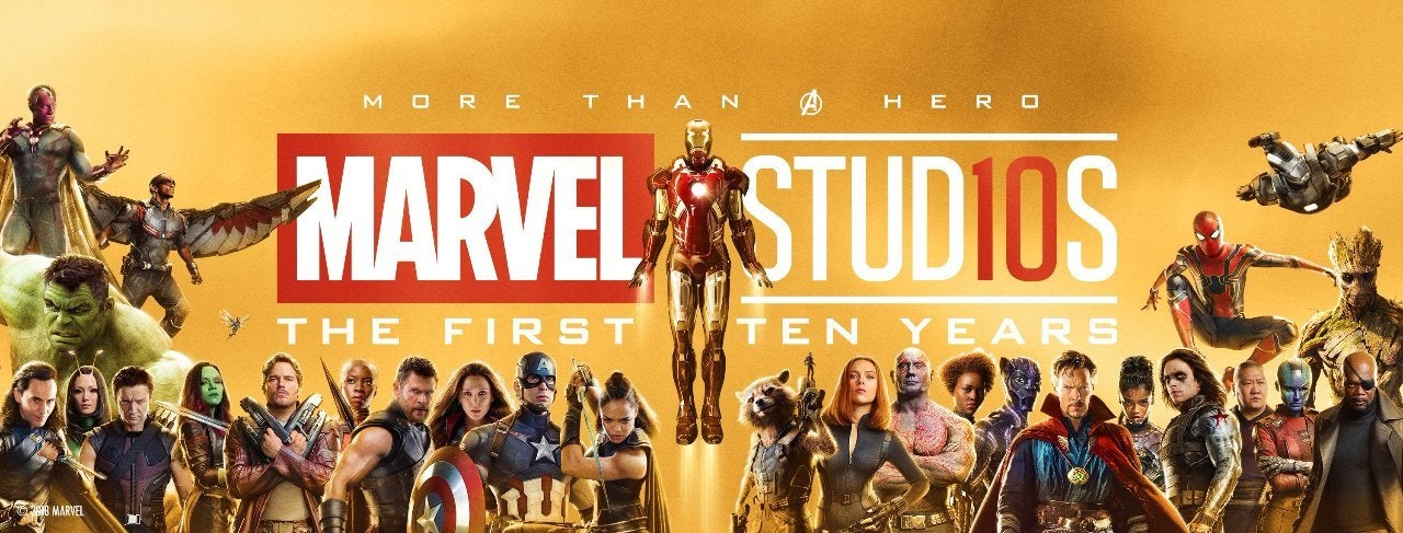 Marvel Studios First 10 Years Banner
