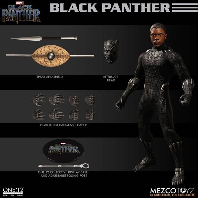 Marvel Black Panther Halloween Costume