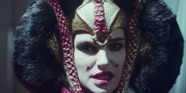 natalie portman padme saturday night live rap