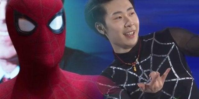 olympics spider man
