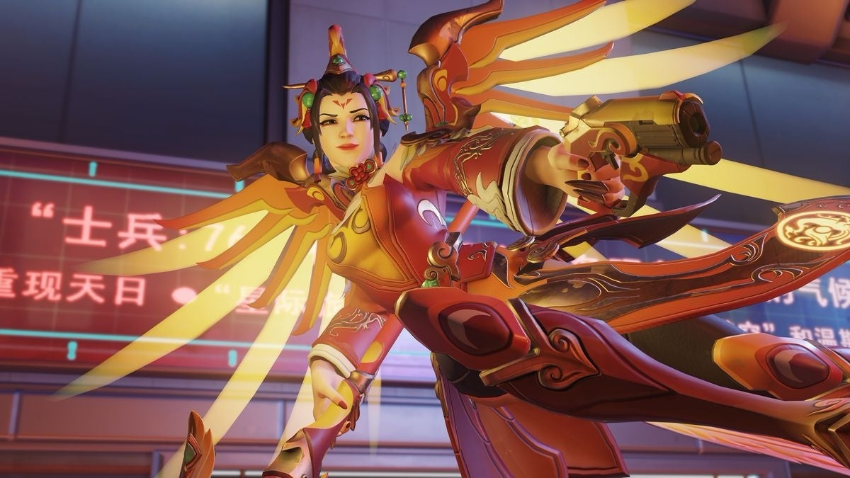 Overwatch Is Nerfing Mercy And Buffing Ana