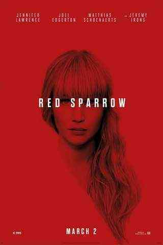 Red Sparrow movie poster image