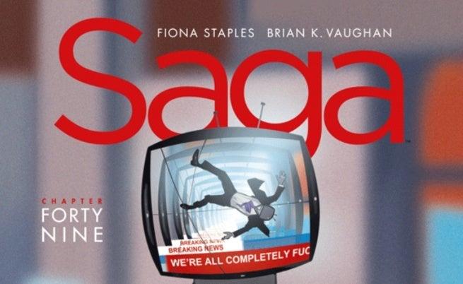 Saga 49 Cover