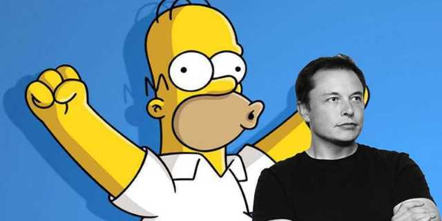'The Simpsons' Sort of Predicted Elon Musk's Car in Space