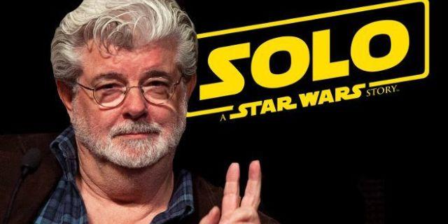 Solo Star Wars Story George Lucas Scene