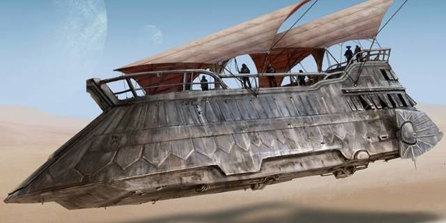 Hasbro Reveals New Crowdfunding Site for Huge Jabba's Sail Barge