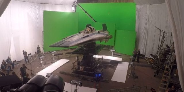 star wars the last jedi behind the scenes a-wing