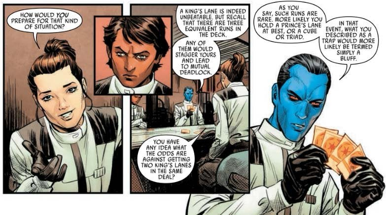 star wars thrawn comic card game marvel