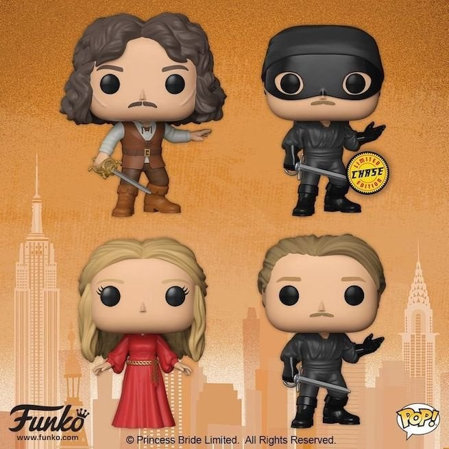 The Princess Bride Joins The Funko Pop Family