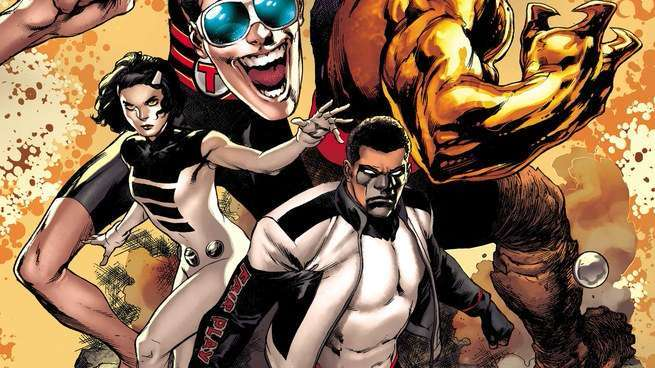 The Terrifics - Cover