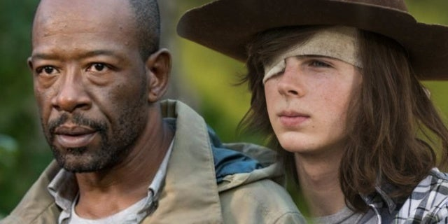 the walking dead morgan carl