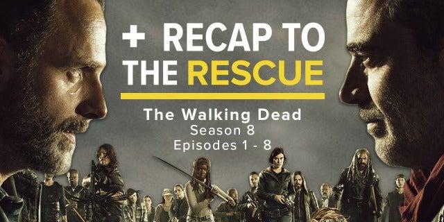 The Walking Dead Season 8A - Recap to the Rescue screen capture