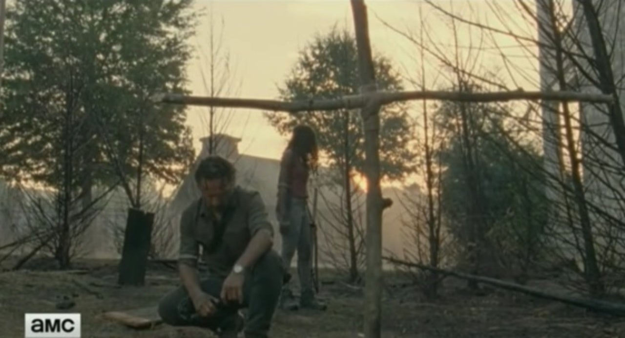 rick grimes and michonne