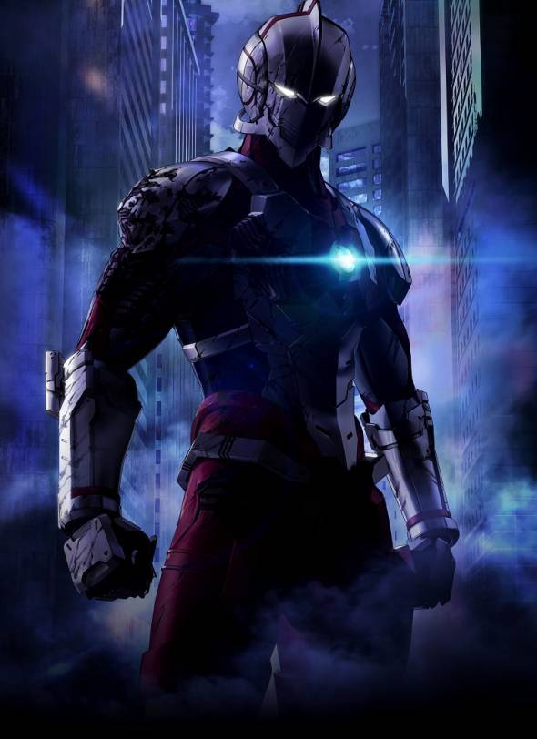 New 'Ultraman' Anime Reveals First Key Visual