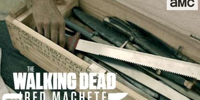 Walking Dead Red Machete