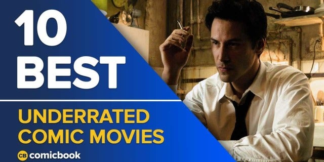 10 Best Underrated Comic Movies