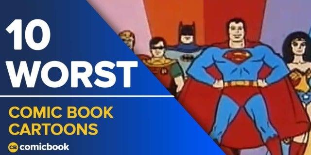 10 Worst Comic Cartoons