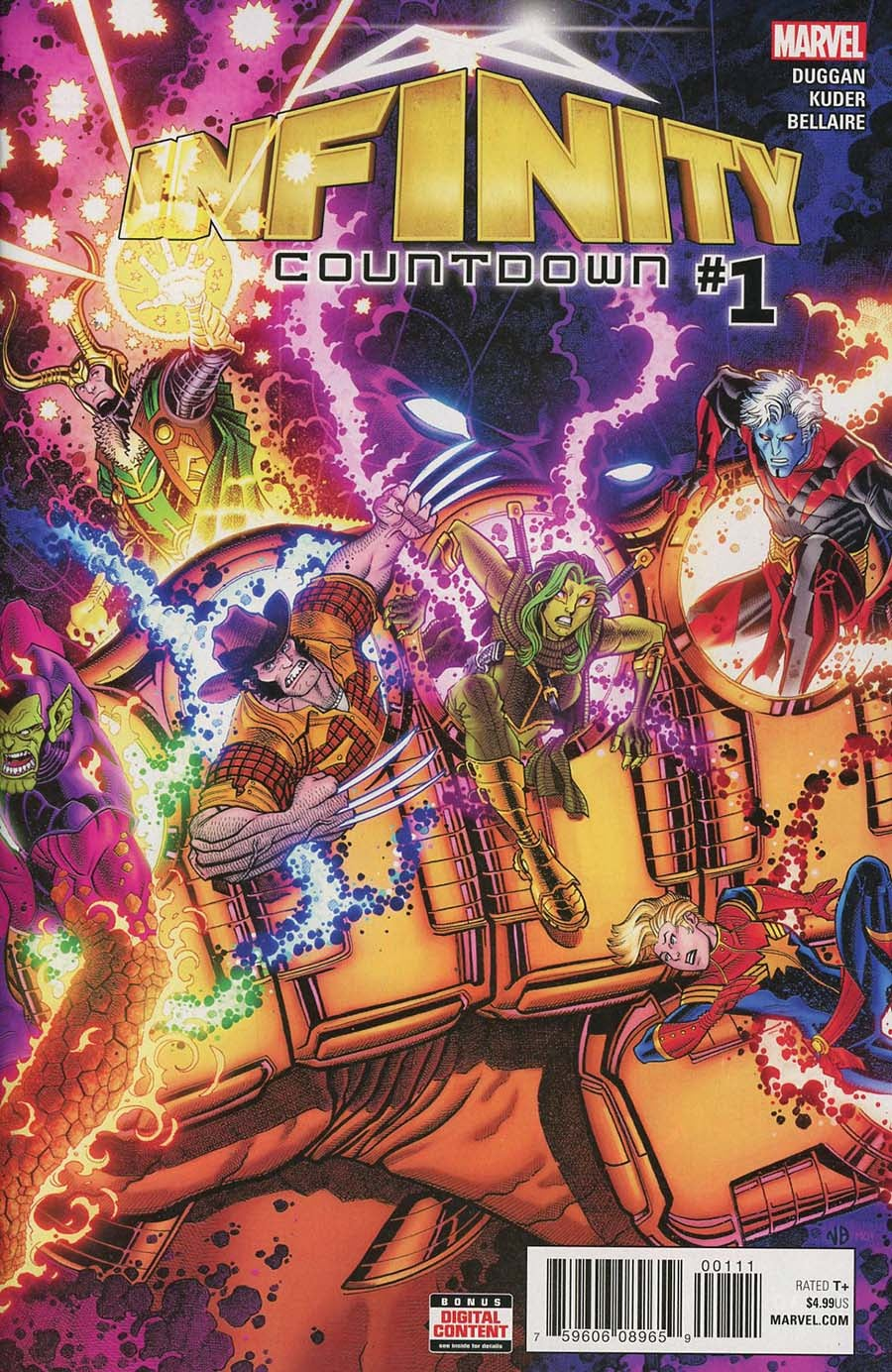 Infinity Countdown (2018) Issue 1