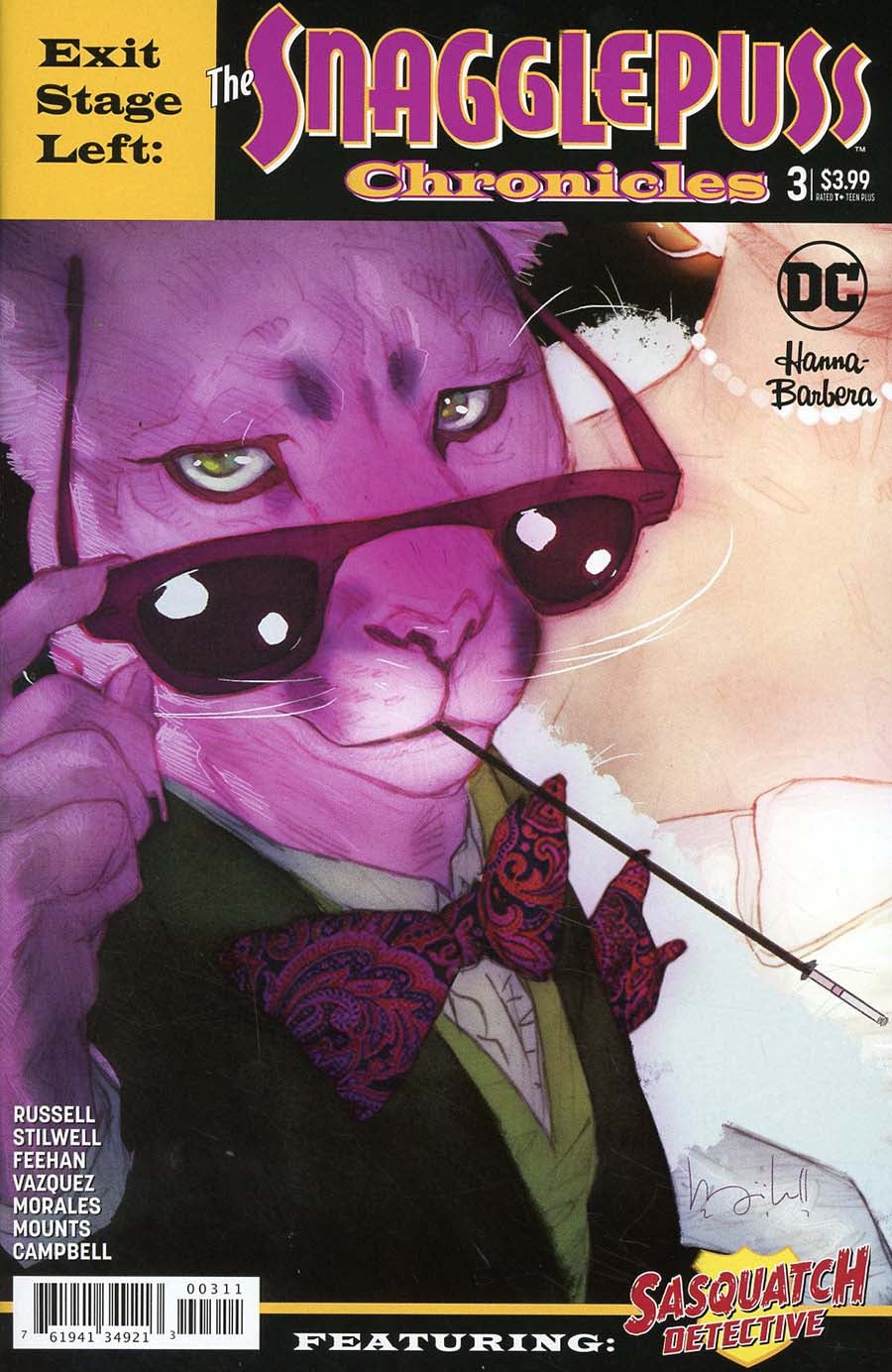 Exit Stage Left: The Snagglepuss Chronicles (2018) Issue 3