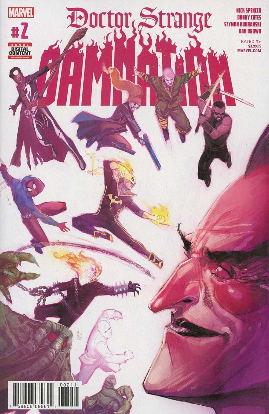 Doctor Strange: Damnation (2018) Issue 2
