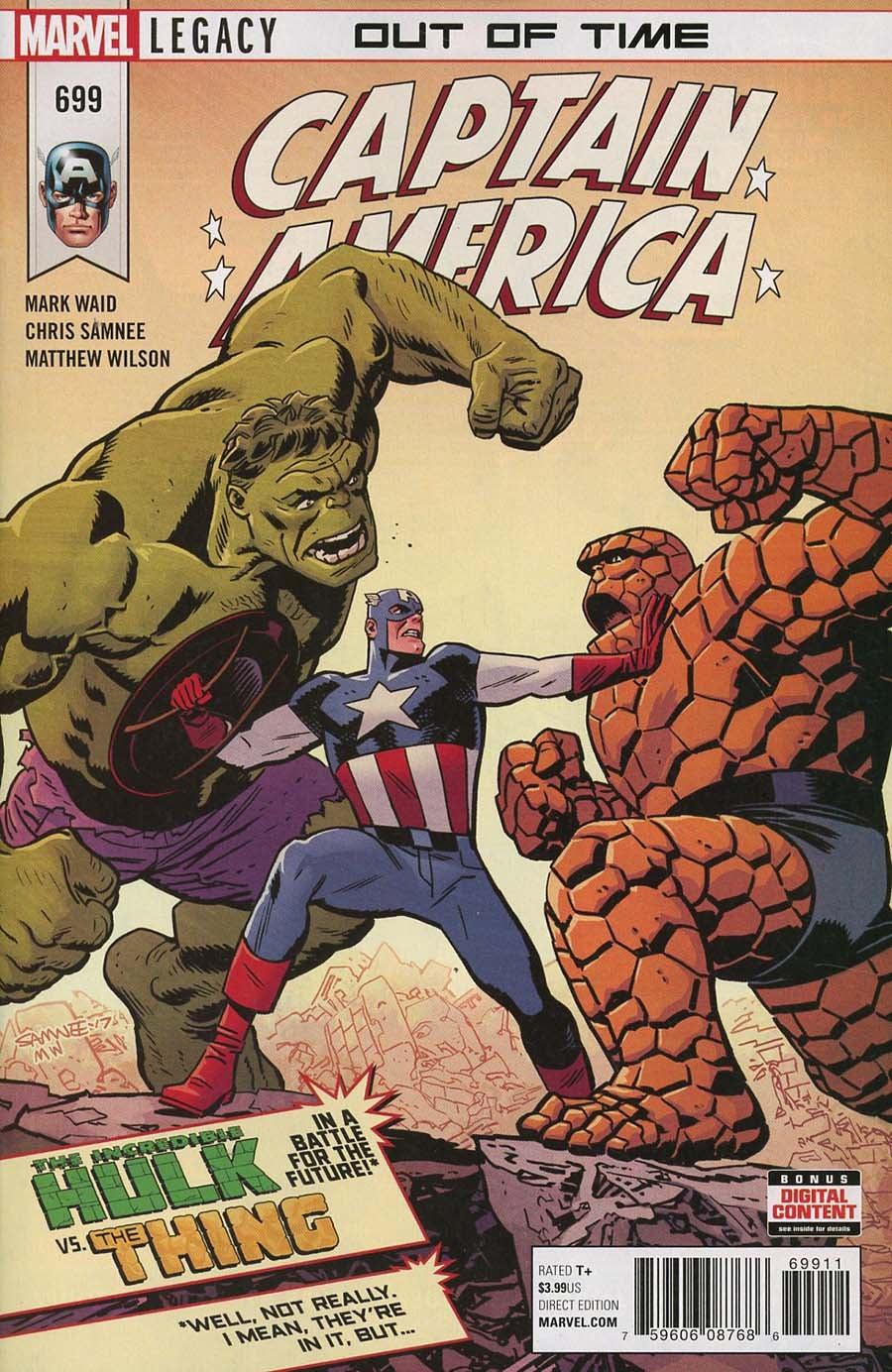 Captain America (1968) Vol. 1 Issue 699