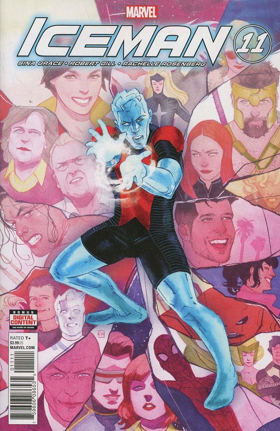 Iceman (2017) Issue 11