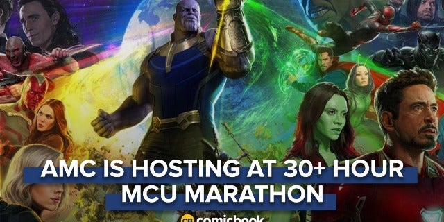 AMC Hosting 30+ Hour MCU Marathon Ahead Of 'Avengers: Infinity War' screen capture