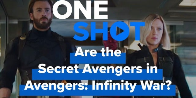 Are the Secret Avengers in Avengers: Infinity War? - One Shot screen capture