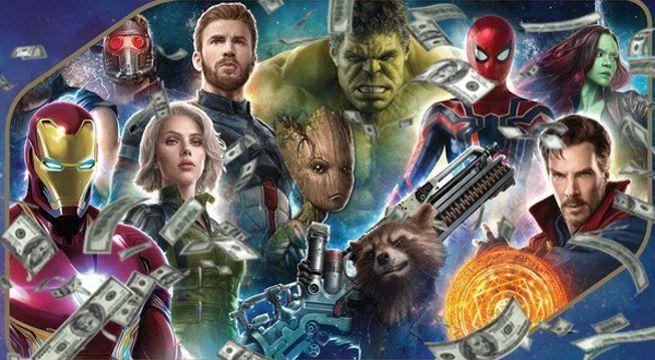 Avengers Infinity War Box Assign of job