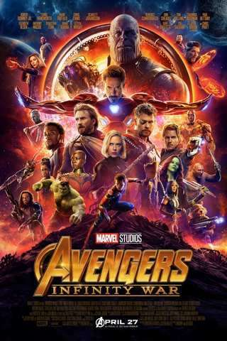Avengers: Infinity War movie poster image