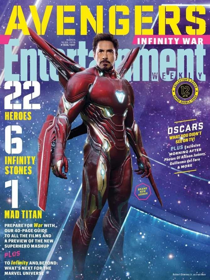 Avengers Infinity War EW Iron Man