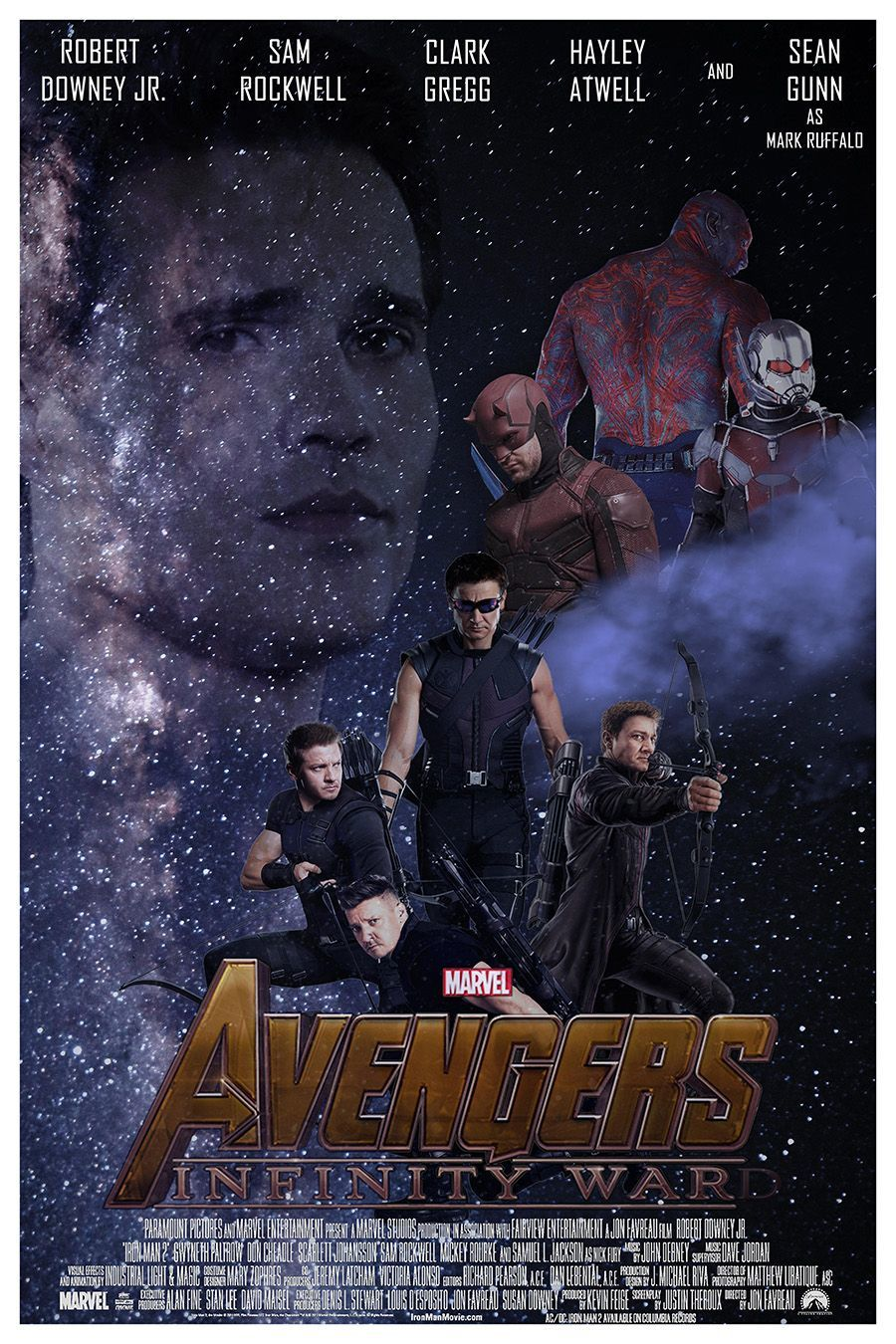Infinity War Poster Missing