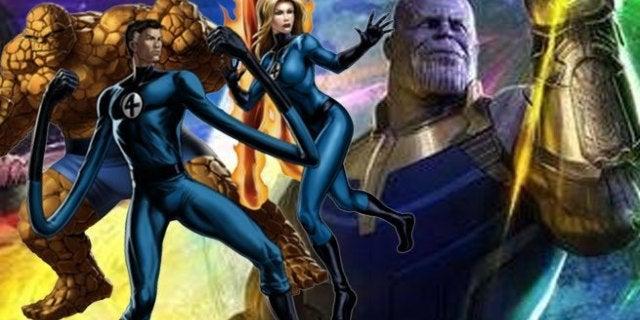 avengers infinity war fantastic four